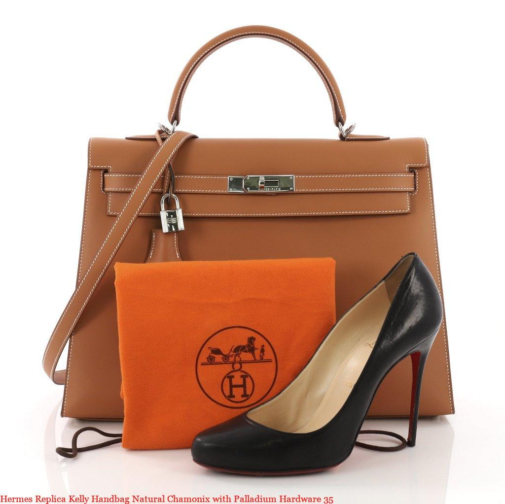 8ef854f120 Hermes Replica Kelly Handbag Natural Chamonix with Palladium Hardware 35 –  Hermes Replica Handbags Imitation Replica Hermes Purses Store