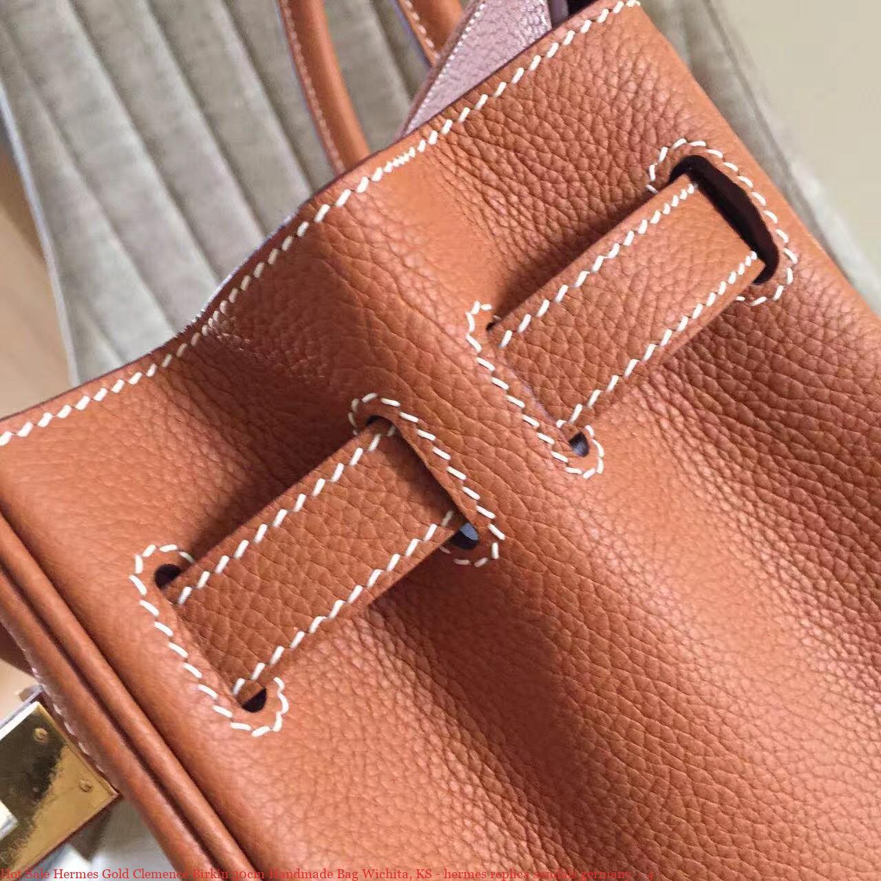 f2b6a243614 Hot Sale Hermes Gold Clemence Birkin 30cm Handmade Bag Wichita, KS ...