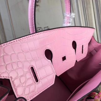 b4afe713c1 You re viewing  US Hermes Birkin 30cm 35cm Bag In Pink Crocodile Leather  Kansas City